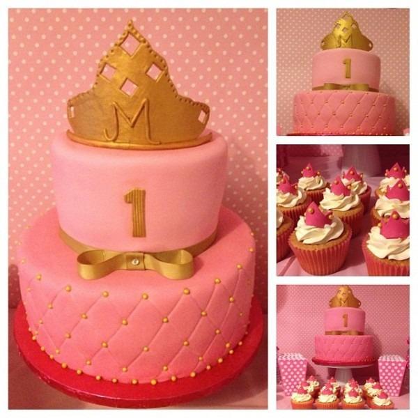 Sweet Princess Birthday Cake
