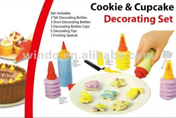 11pc Cookie And Cupcake Decorating Kit Shop For Sale In China