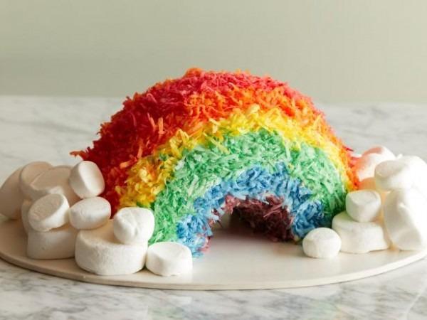 Rainbow Bundt Cake Recipe