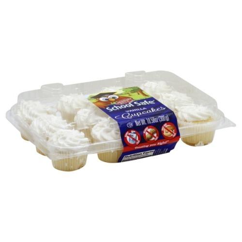 School Safe Cupcakes