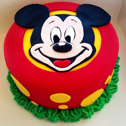 Fabulous Mickey Mouse Cake 1kg Chocolate