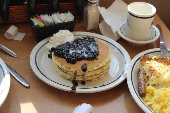 Double Blueberry Pancakes
