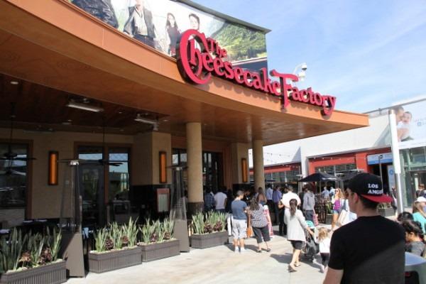 Cheesecake Factory Opens In Santa Monica, California