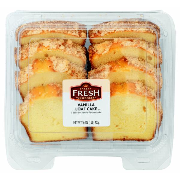 Vanilla Loaf Cake From Kroger