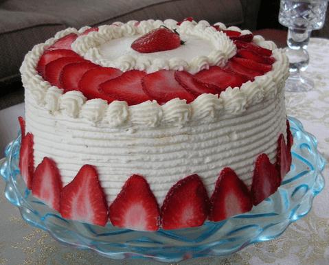 Strawberry Cake – Decoration Ideas