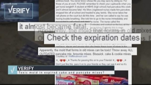 Verify  Does Expired Cake And Pancake Mix Grow Toxic, Deadly Mold