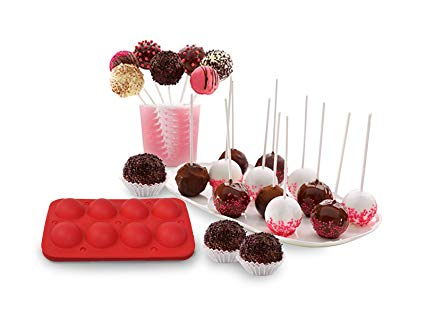 Amazon Com  New 8 Cup Tasty Top Cake Pops Silicone Baking Pop