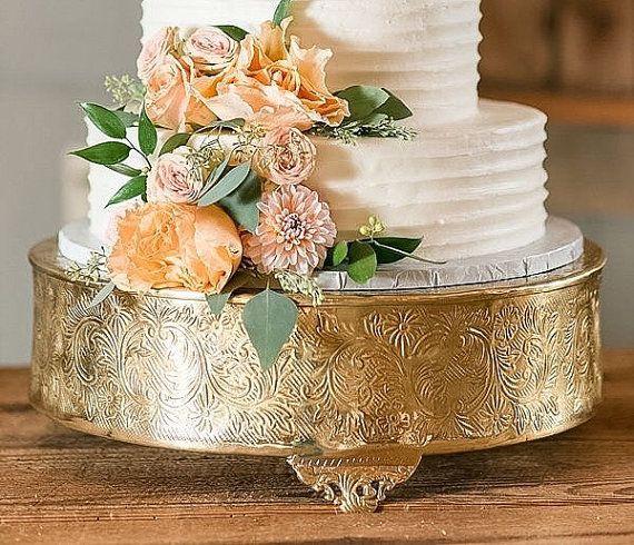 14  Gold Round Cake Stand Beautiful Gold Cake Stand Aluminum