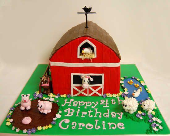 Homepage Of Cake Art Studio Barnyard Birthday Cake