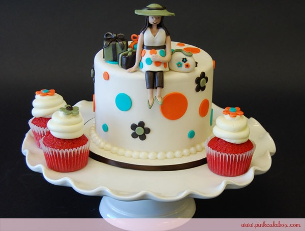 Baby Shower Cupcake And Cake Topper » Custom Baby Shower Cakes