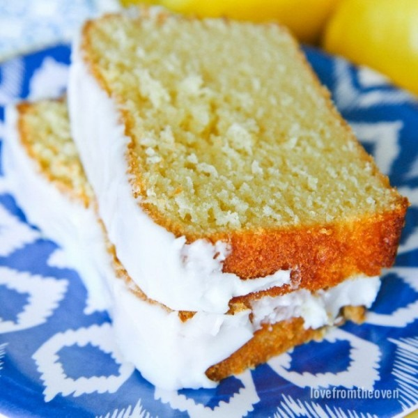 Starbucks Lemon Loaf Copy Cat