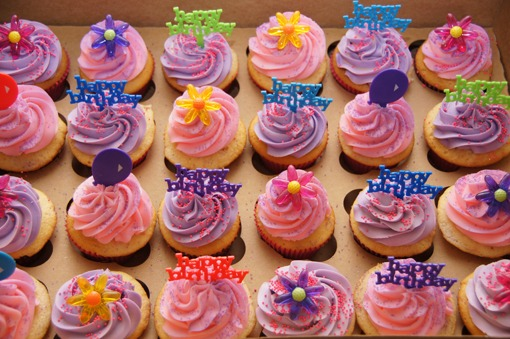 12 Cup Cakes For The Girl Photo