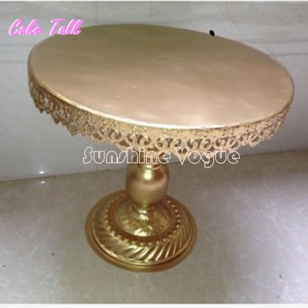 Gold Metal Iron Wedding Cake Stand Barware Decorating Tools 14