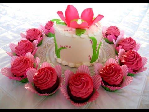 Birthday Flower Cake
