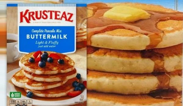 Expired  New Krusteaz Pancake Mix Coupon