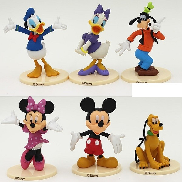 Mickey Mouse Cake Topper Figurines