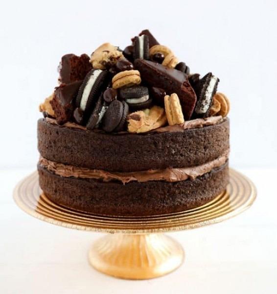 Rectangular Chocolate Cake Decorating Ideas Also Chocolate Truffle