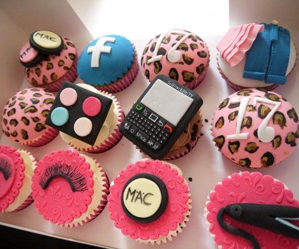11 Teen Cupcakes Design Photo