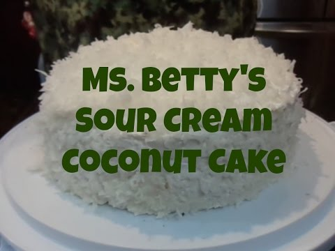 3 Day Coconut Cake Recipe Sour Cream