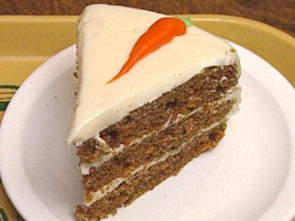 Slimmed Down Carrot Cake Recipe