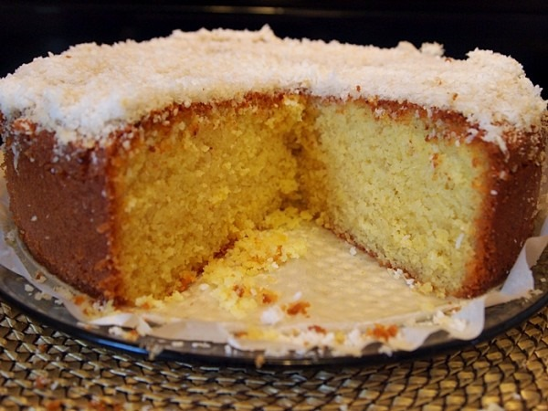 Orange Coconut Cake – Aroma Espresso Bar Style « Mayas Kitchen