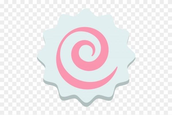 Fish Cake With Swirl Design Emoji