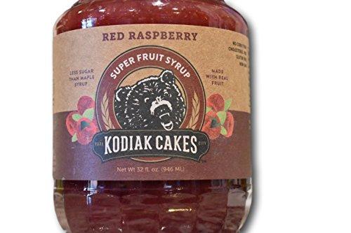 Amazon Com   Kodiak Cakes Red Raspberry Super Fruit Syrup