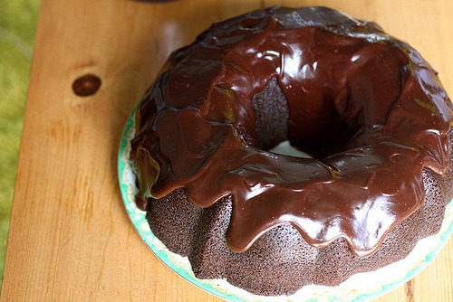 The Making, Baking And Consumption Of The Best Chocolate Bundt