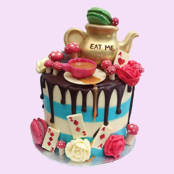Alice In Wonderland Cake In 2019