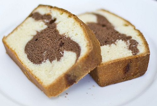 Welcome To Fabbylife  Sour Cream Marble Loaf Pound Cake