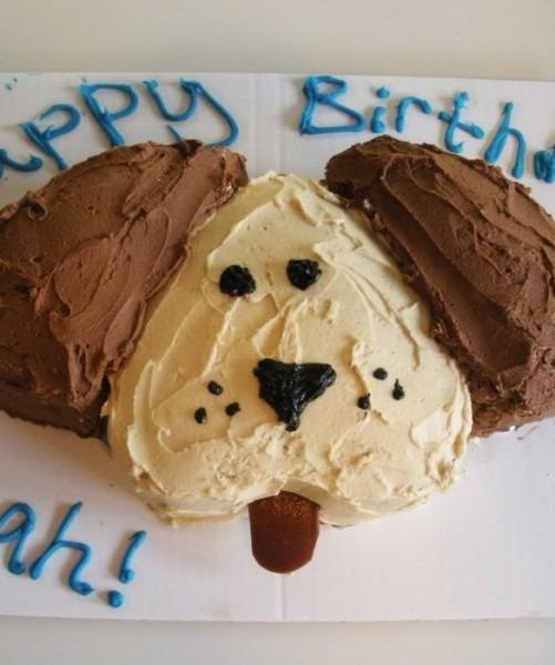 10 Simple Dog Cakes Photo