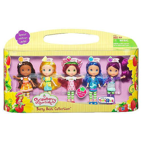 Strawberry Shortcake Dolls, Berry Best Collection Doll Set