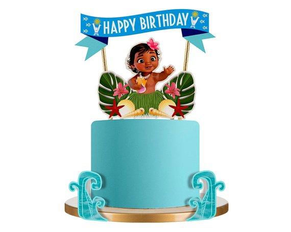 Baby Moana Baby Moana Party Baby Moana Cake Topper Moana