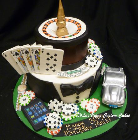 Vegas In Style Cake