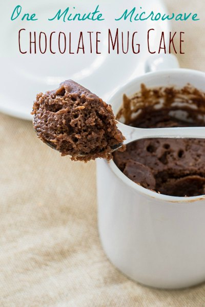 Microwave Chocolate Mug Cake, Eggless 1 Minute Microwave Chocolate