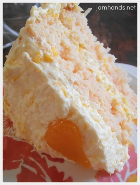 Jam Hands  Coconut Orange Cake
