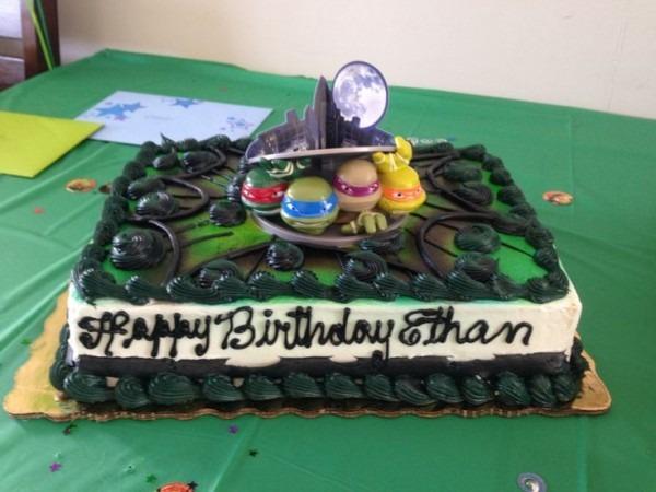 Publix Ninja Turtle Cake