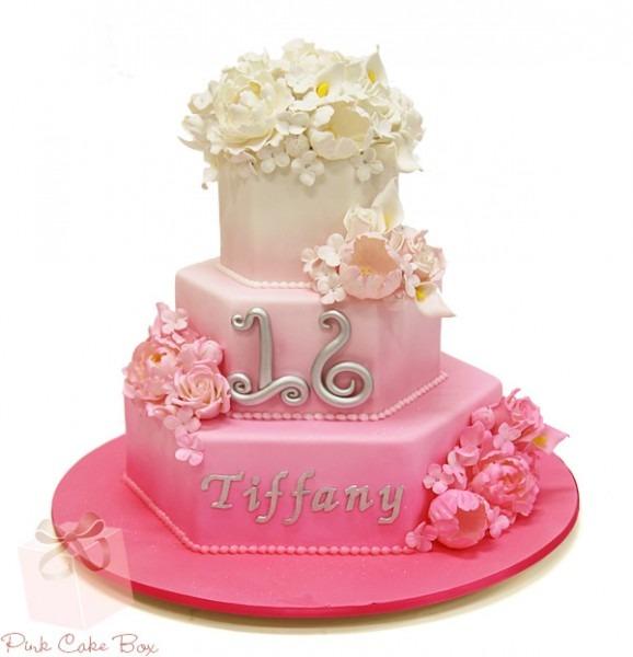 Publix Sweet 16 Cake
