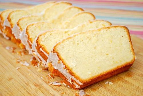 Krusteaz Sour Cream & Meyer Lemon Pound Cake Recipe