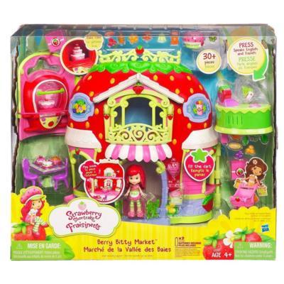 Holiday Gift Idea  Strawberry Shortcake Berry Bitty Market Play Set