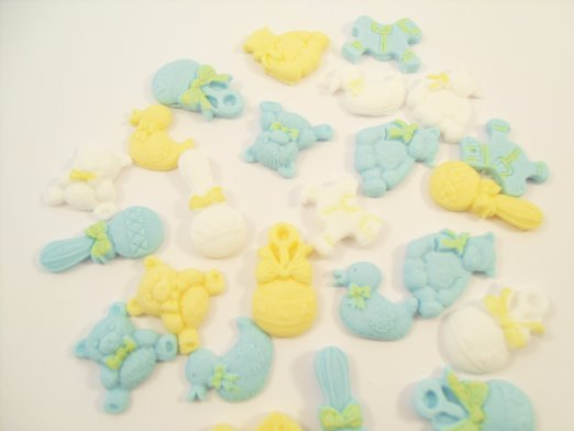 11+ Baby Shower Cupcake Toppers Edible
