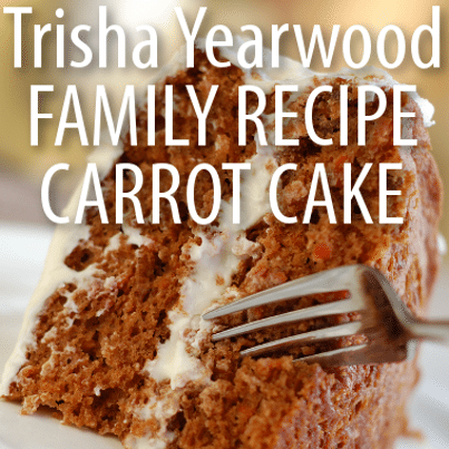 Live With Kelly  Trisha Yearwood Family Carrot Cake Recipe