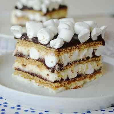 S'mores Icebox Cake Recipe