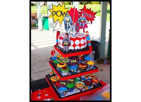 Cupcakes And Cupcake Cake Stand Diy Birthday