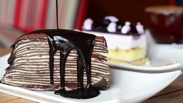 Thousand Layer Cake, Twelve Layer Stock Footage Video (100