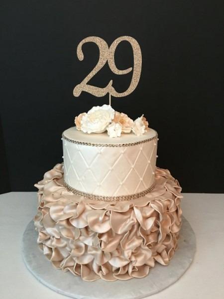 11 Best 29th Birthday Cakes Photo