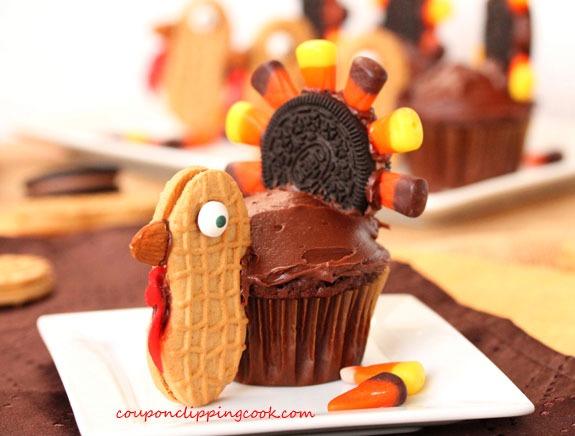 Thanksgiving Turkey Cupakes