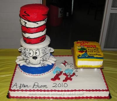 Coolest Dr Seuss Cake