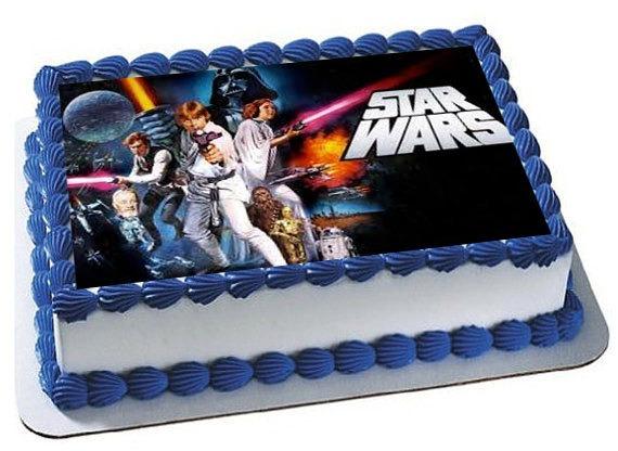 Star Wars Cake Topper, Star Wars Birthday Party, Star Wars