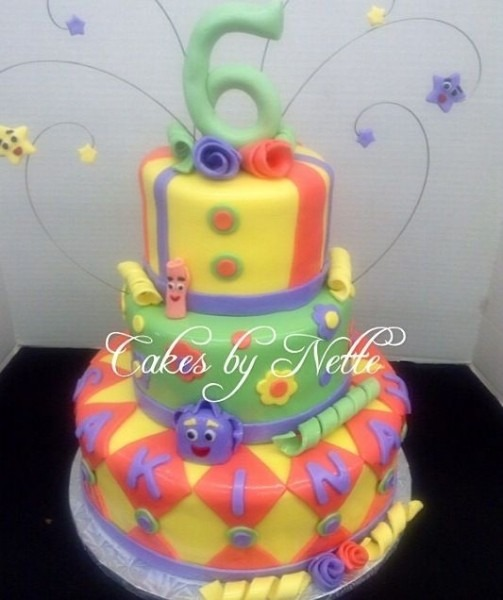 Nickelodeon Dora 6th Birthday Cake  Cakes By Nette  St  Louis